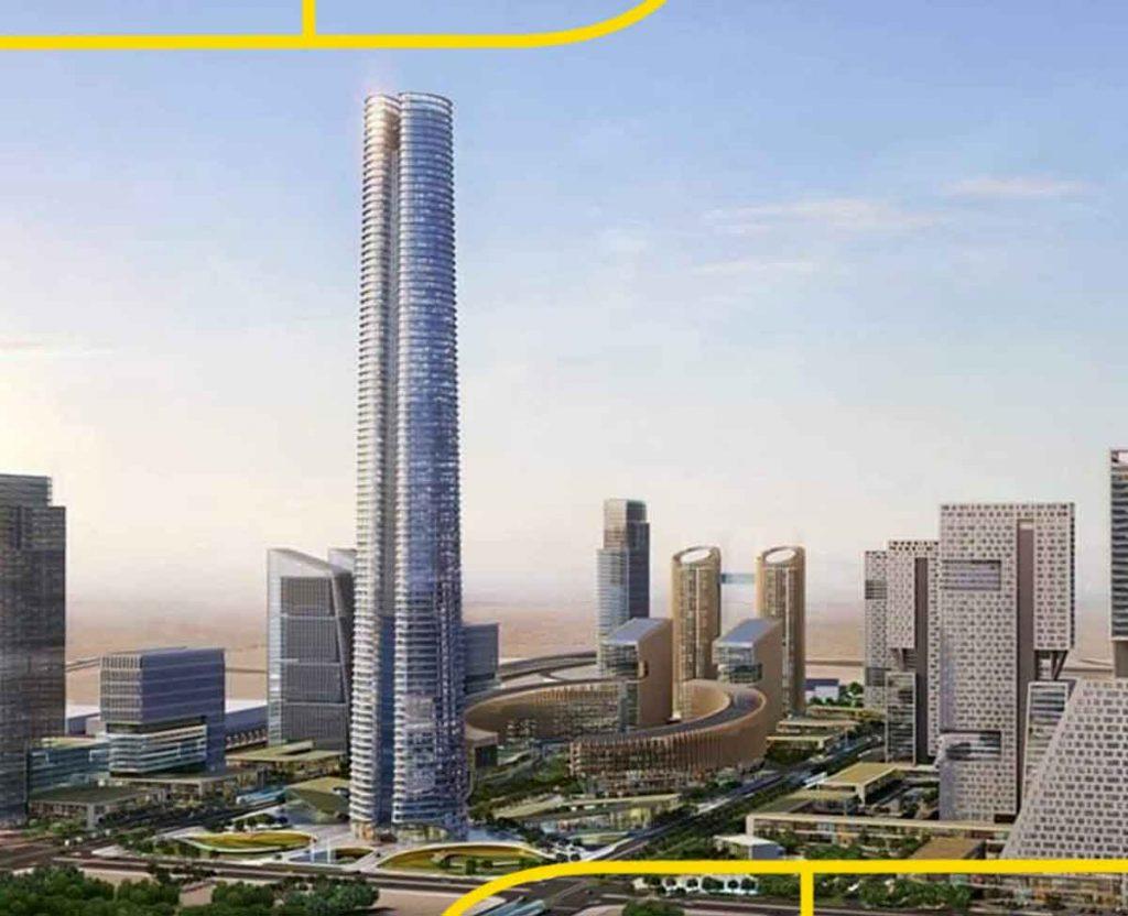 البرج الأيقوني آخر إنجازات العاصمة الإدارية الجديدة