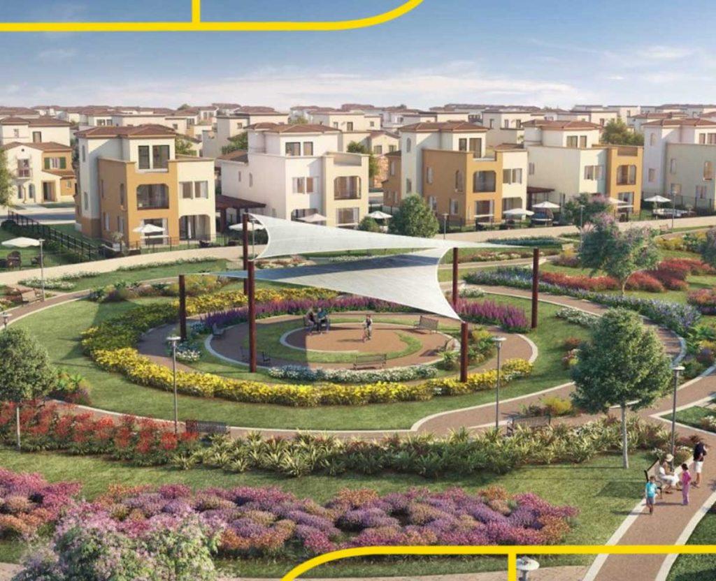 Mivida apartments with gardens