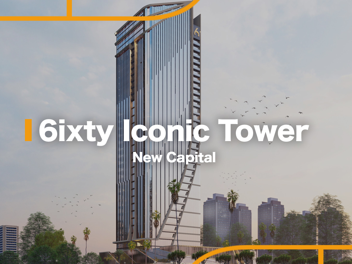 6ixty Iconic Tower by Al Burouj Misr -featured-1