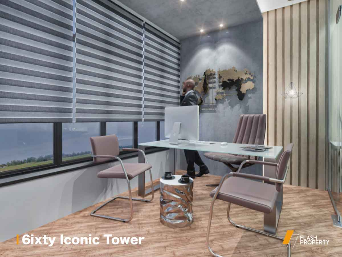 6ixty Iconic Tower by Al Burouj Misr -featured-2
