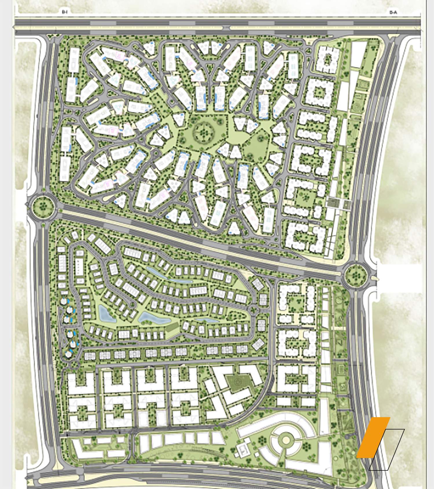 Bloomfields - Master plan image - Flash property                                                style=