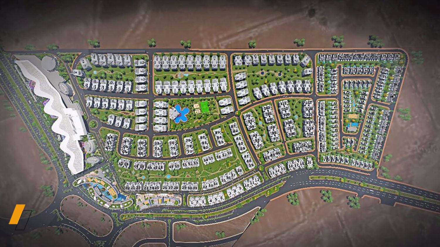 Fifth Square - Master plan image - Flash property                                                style=