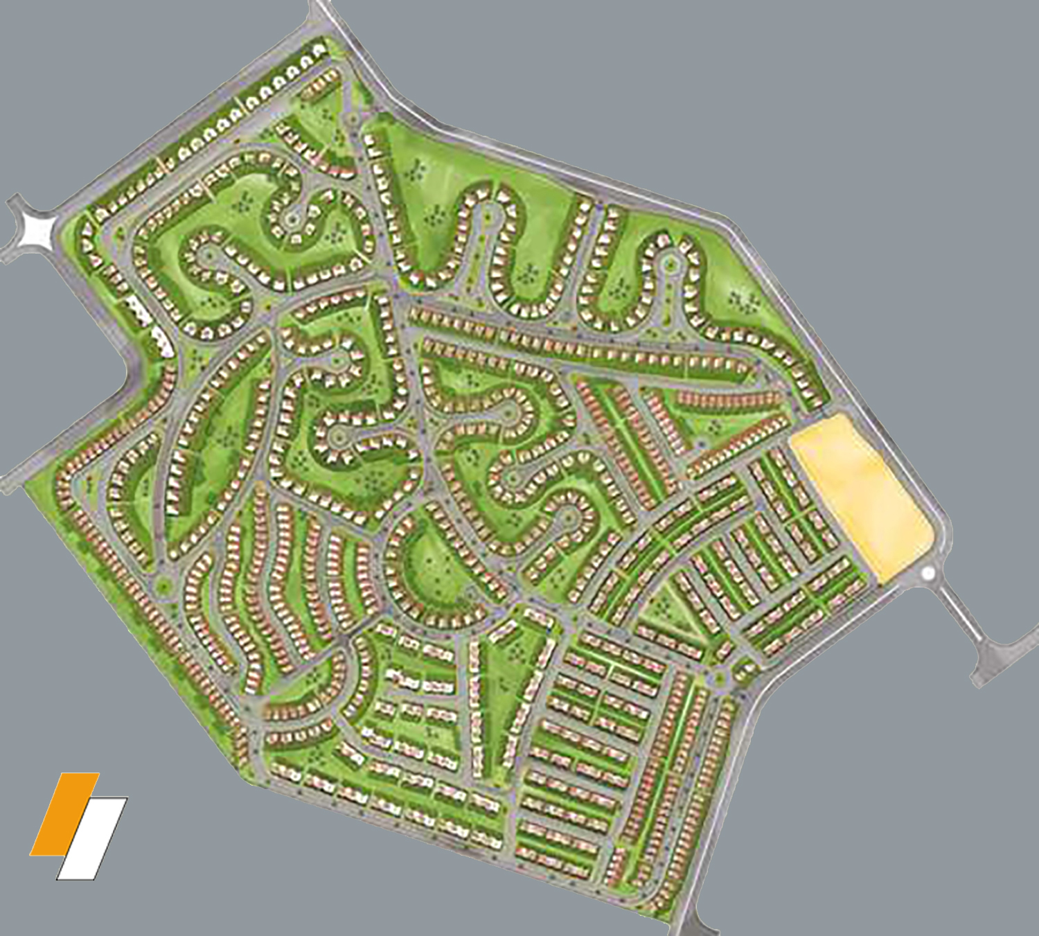 Golf Extension - Master plan image - Flash property                                                style=