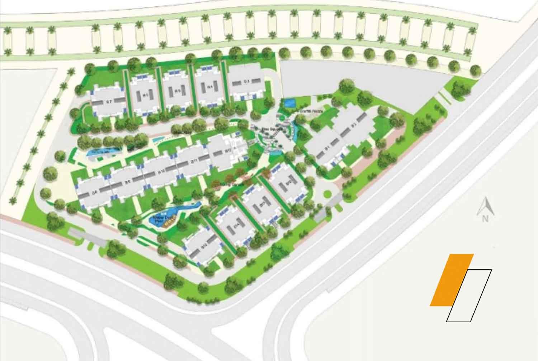 Green Avenue - Master plan image - Flash property                                                style=