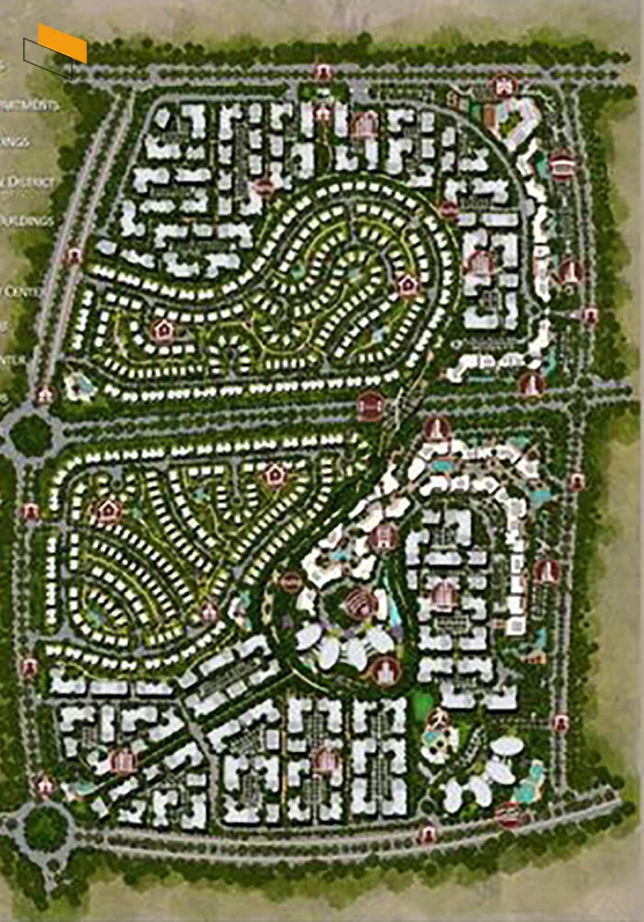 Il Bosco - Master plan image - Flash property                                                style=