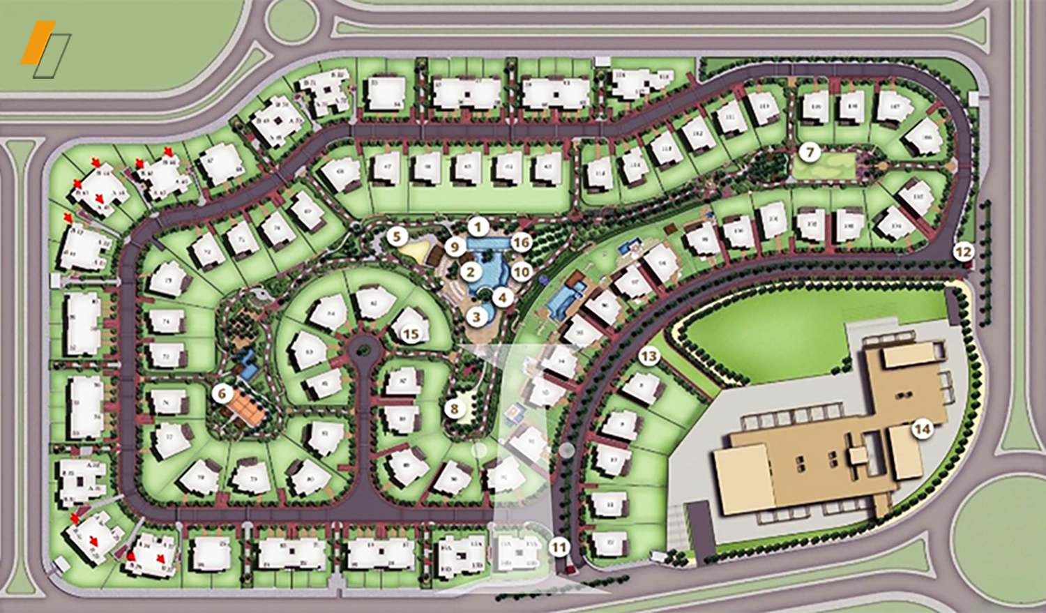 La Nuova Vista - Master plan image - Flash property