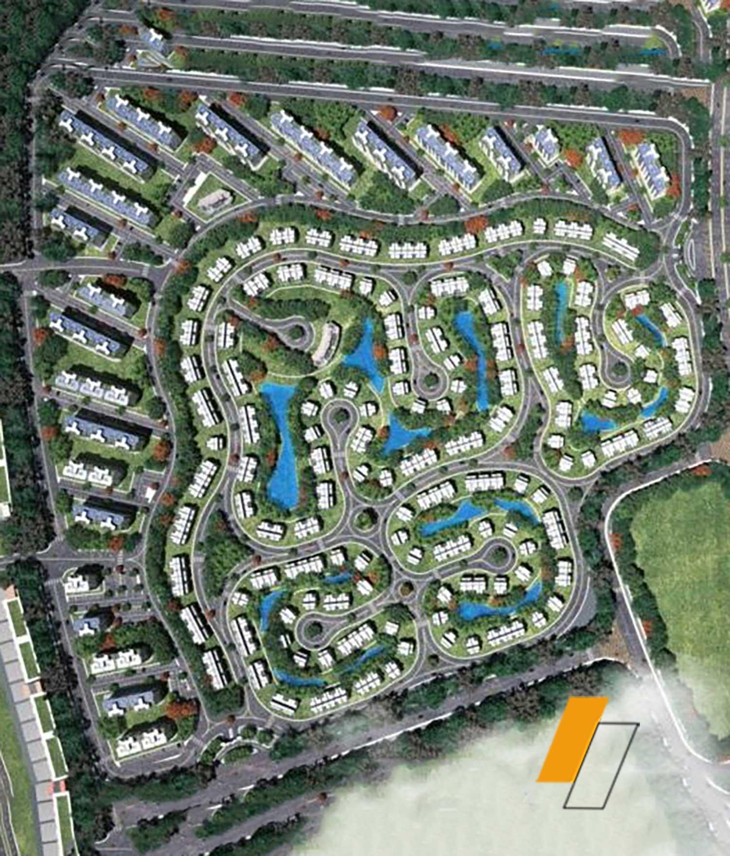Midtown Sky - Master plan image - Flash property                                                style=