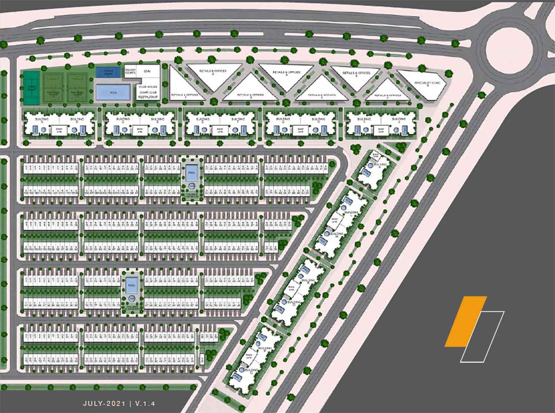 Montenapoleone - Master plan image - Flash property                                                style=
