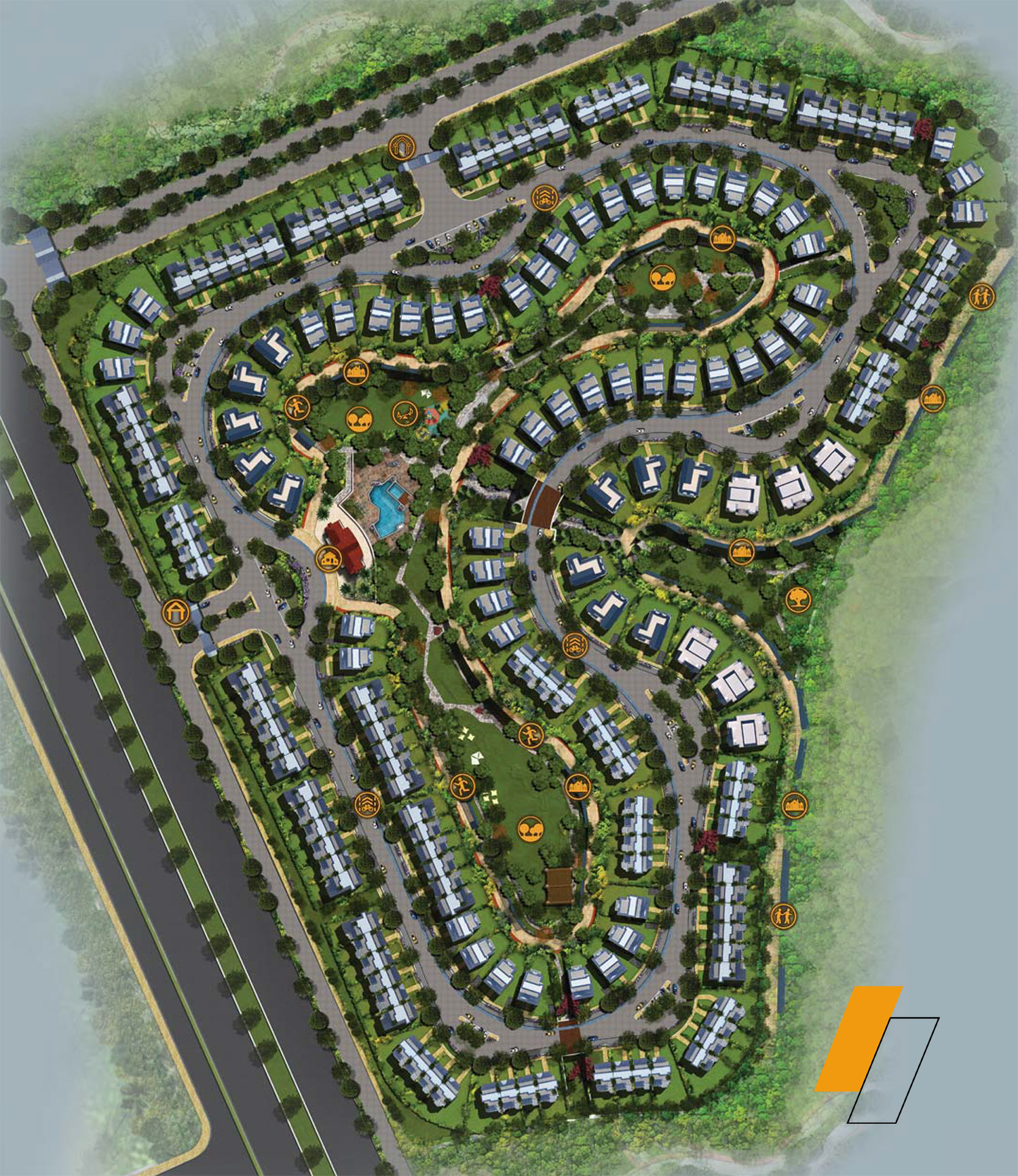 Mountain View III - Master plan image - Flash property                                                style=