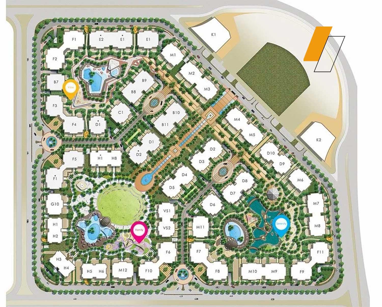 Ninety Avenue - Master plan image - Flash property                                                style=