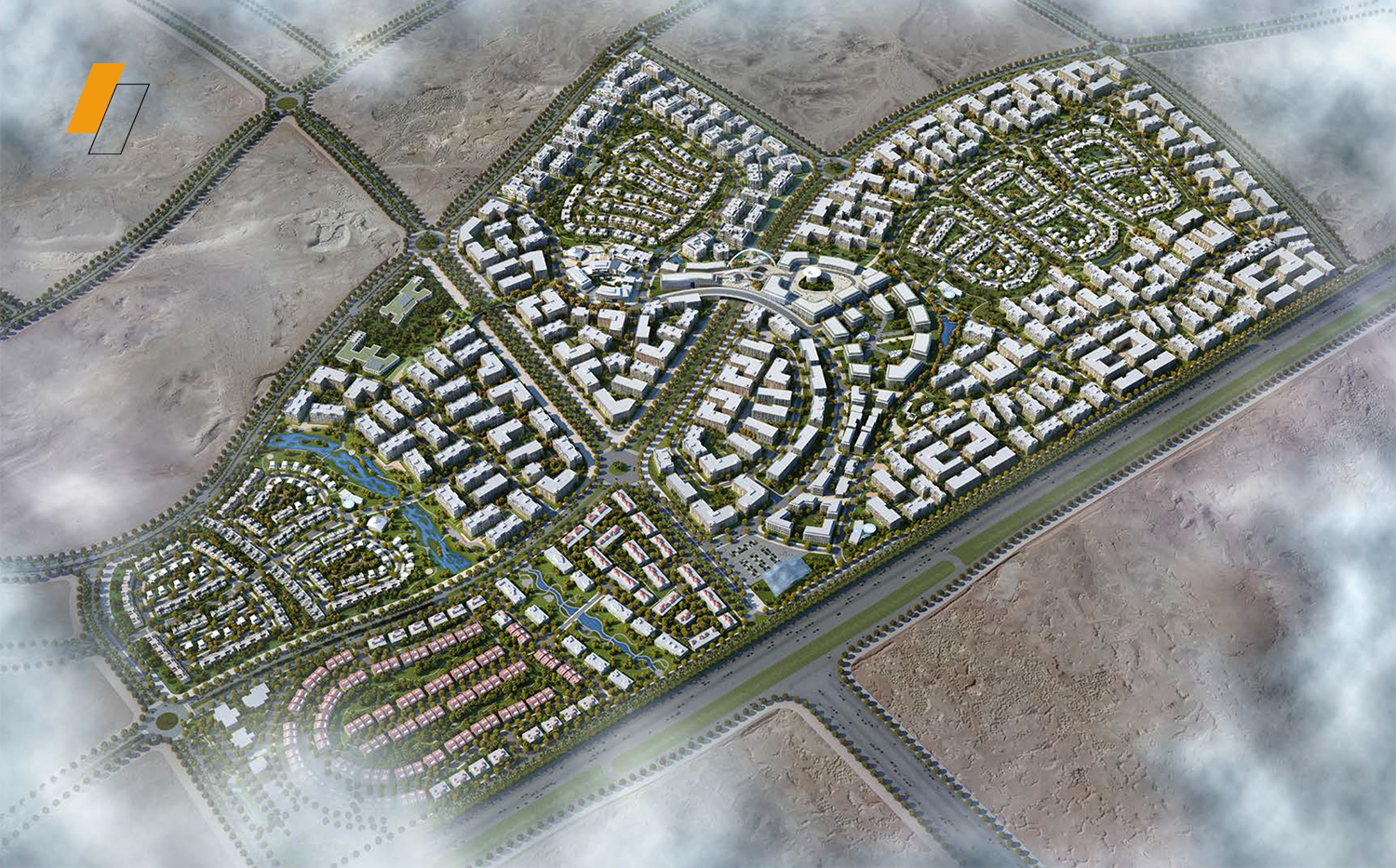 The City of Odyssia - Master plan image - Flash property                                                style=