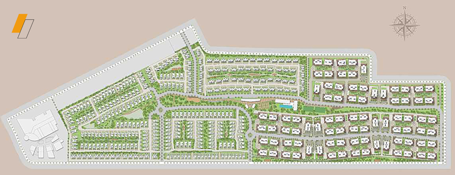 Palm Hills Alexandria - Master plan image - Flash property                                                style=