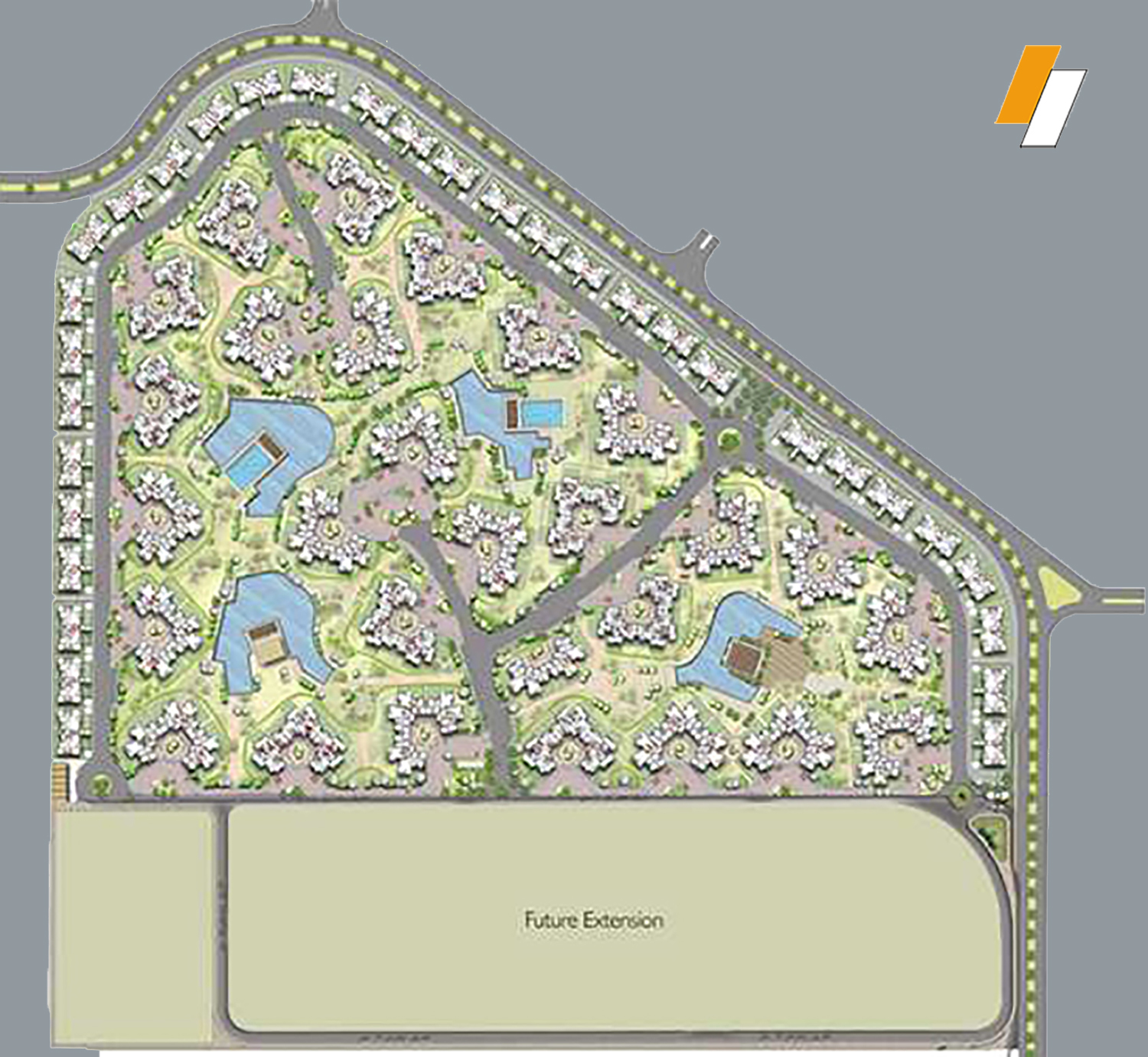 Palm Parks - Master plan image - Flash property                                                style=