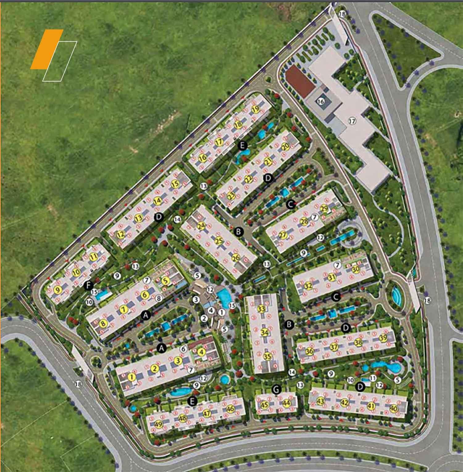 Scenario - Master plan image - Flash property                                                style=