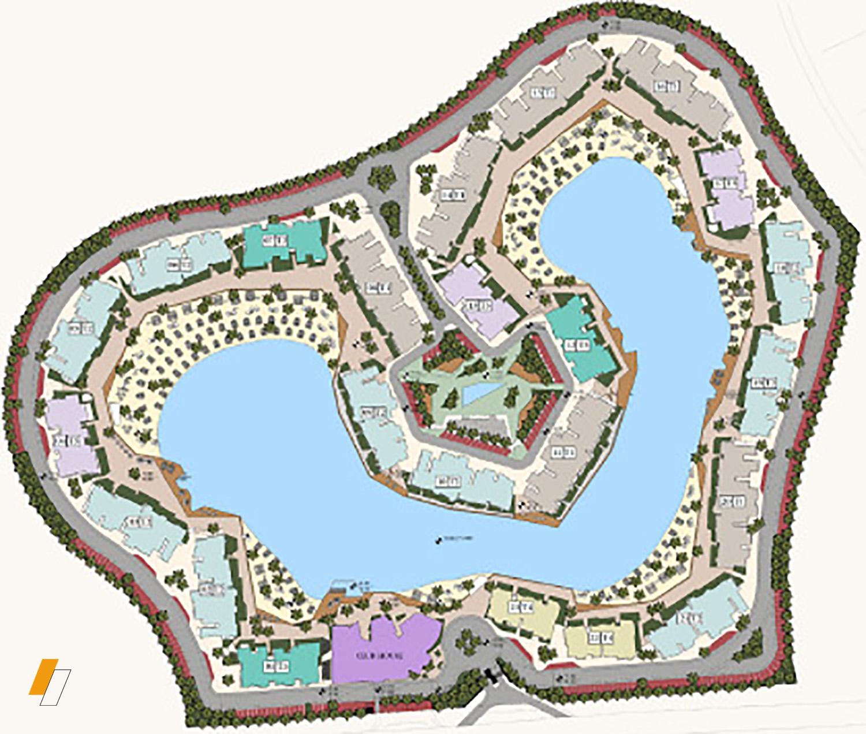 Swan Lake El Gouna - Master plan image - Flash property
