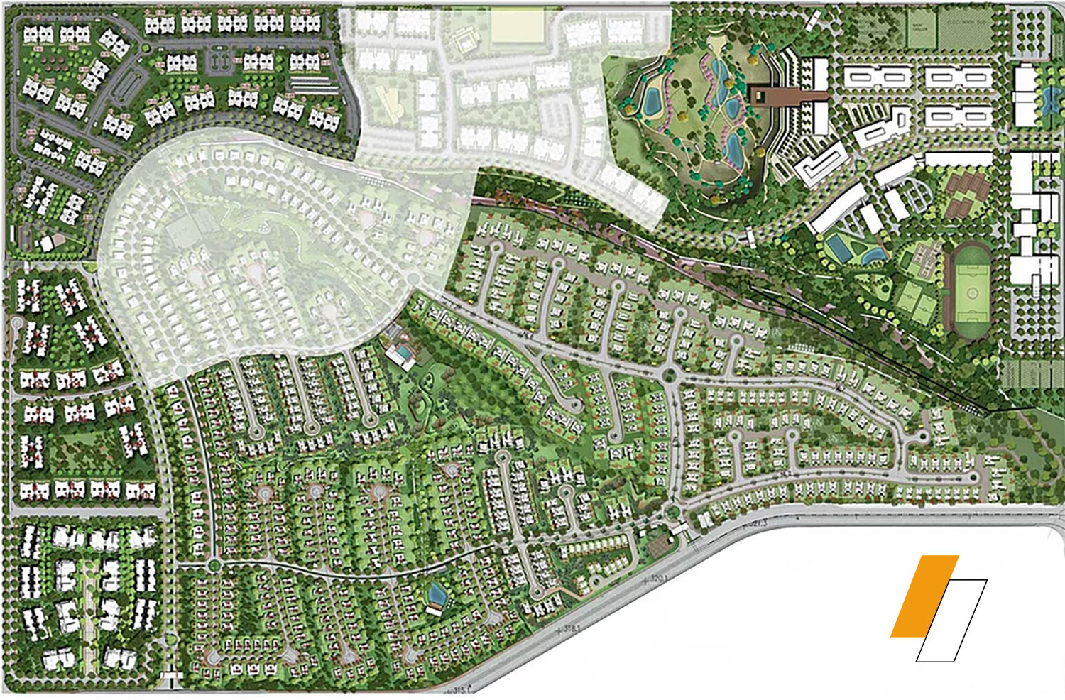 Palm Hills New Cairo - Master plan image - Flash property