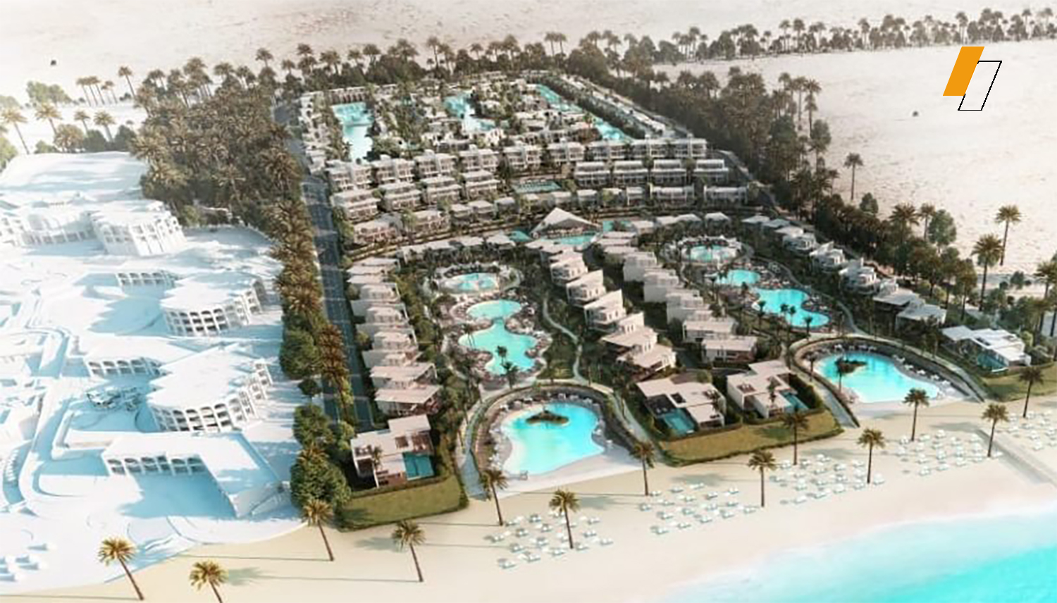 Palm Hills New Alamein - Master plan image - Flash property                                                style=