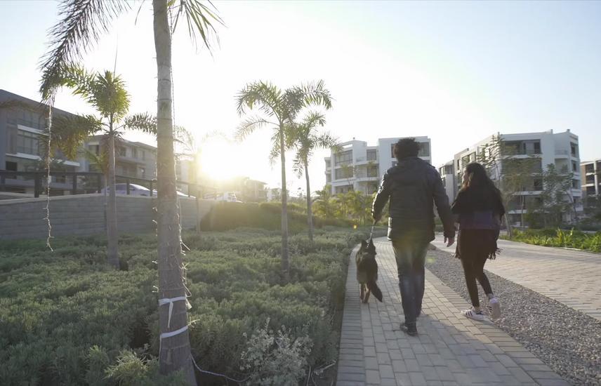 شقة للبيع 278 م امام مطار القاهرة مياشرة TAJ CITY