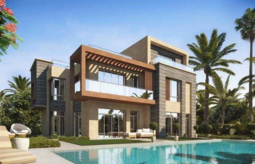 Villa for sale in Taj City, receive 1 year and 7 years installments