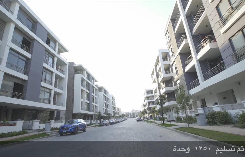 شقة للبيع 143 م امام مطار القاهرة مياشرة TAJ CITY