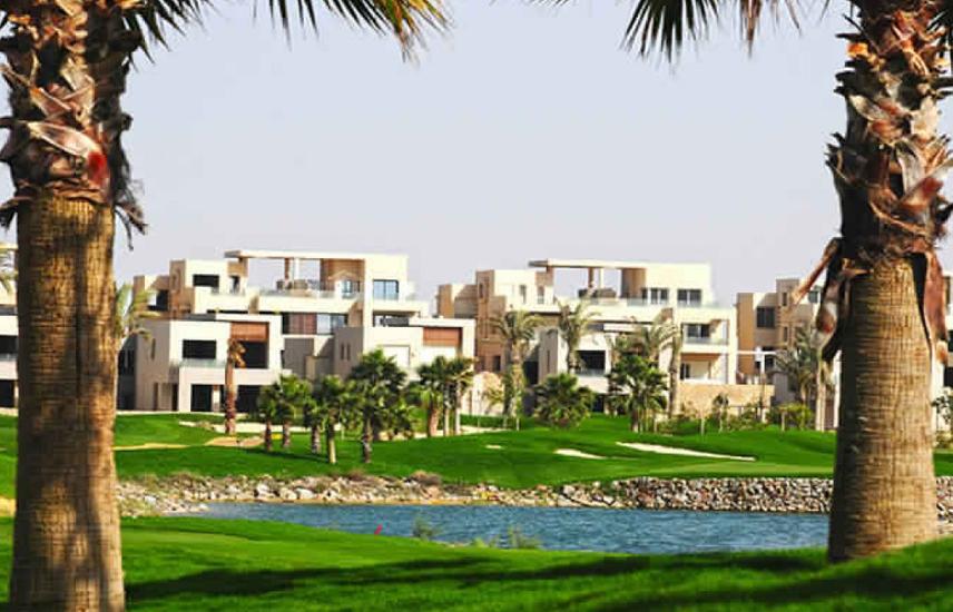 Luxurious Ground Chalet Corner -2nd row golf-Bahry