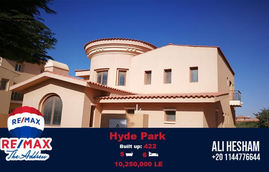 Semi Finished Villa for sale  Hyde Park New Cairo