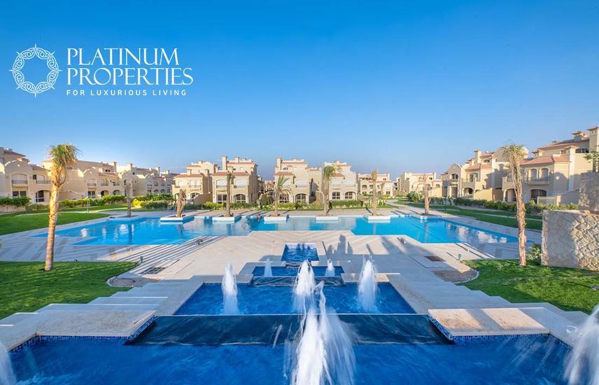Chalet for sale in La Vista 6 - Al Ain Sokhna - 4th row