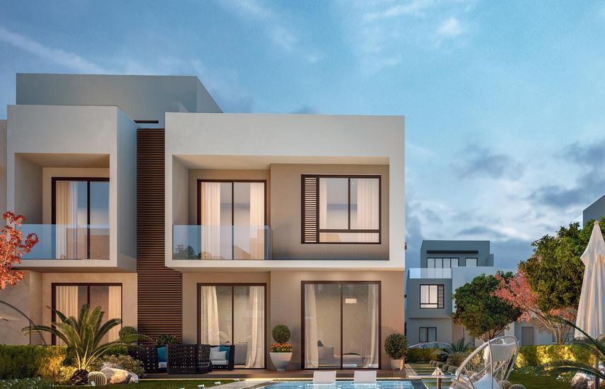 # 3 For Sale Finished Apartment 105m Compound Al Burouj Al Shorouk Premium 10 Years Down Payment 6%