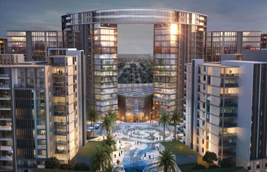 Apartment 102 M in Zed Towers El Sheikh Zayed .