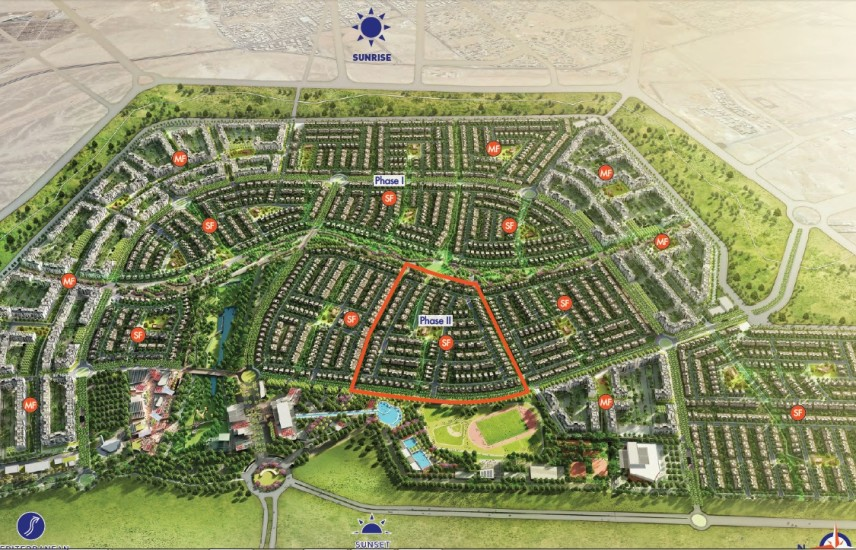 Town H for sale in 2nd phase in S,East