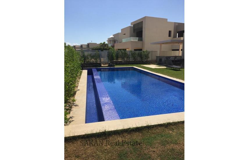 Fully finished villa with cabana installments