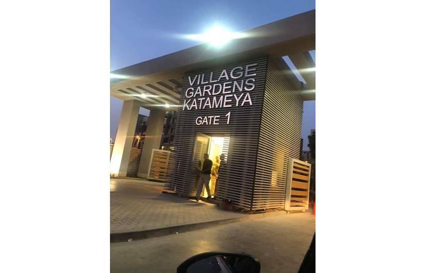 Duplex for sale compound village garden Katameya.
