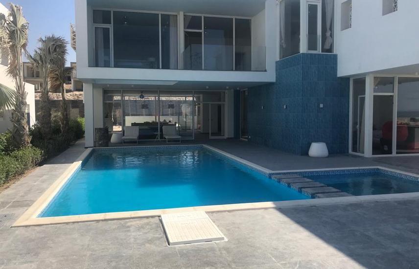 Standalone villa 1st row lagoon in Fouka Bay,Dp 4m
