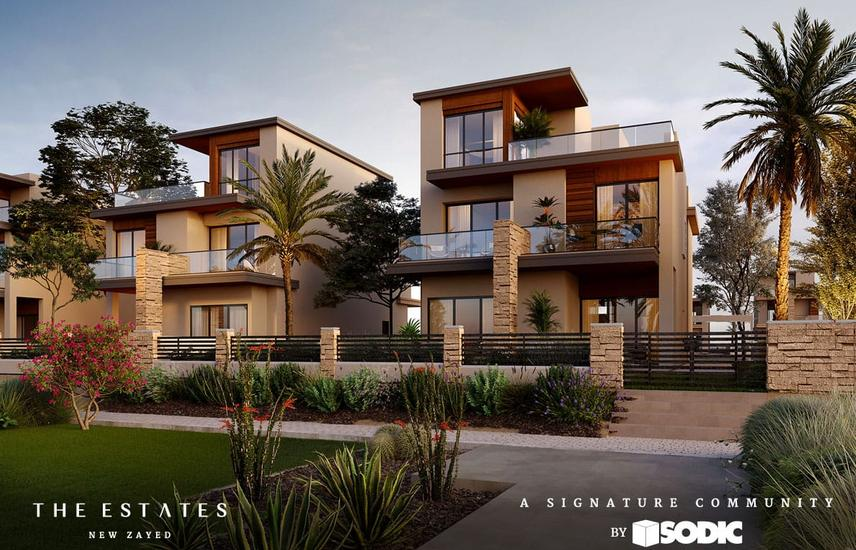 Townhouse 260m With 5% downpayment in The Estates - SODIC