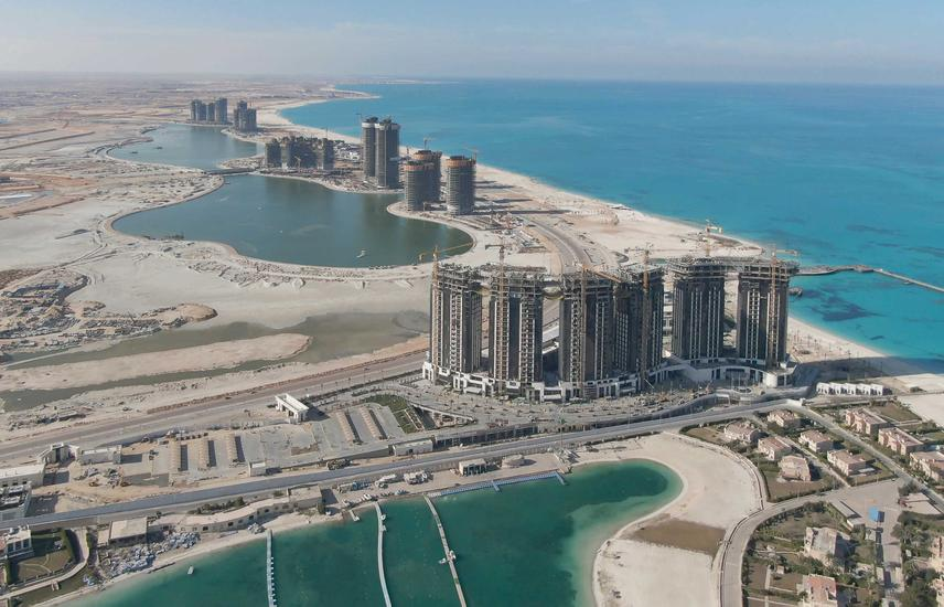 last unit For Sale 182m in North Edge Al Alamein