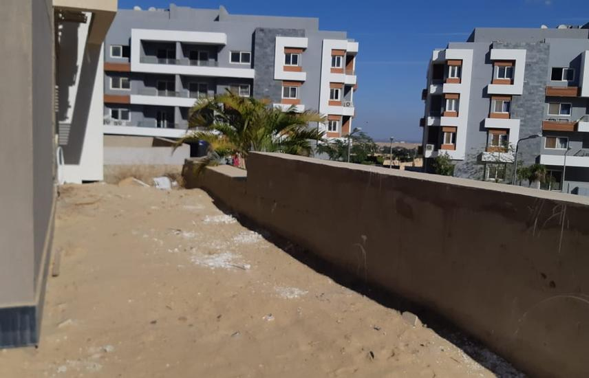 Apartment with garden semi finished -Zayed Regency