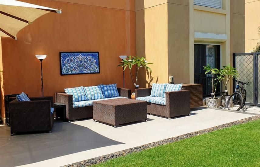 Unique Garden Chalet 120 sqm 3 Bedrooms in Marassi