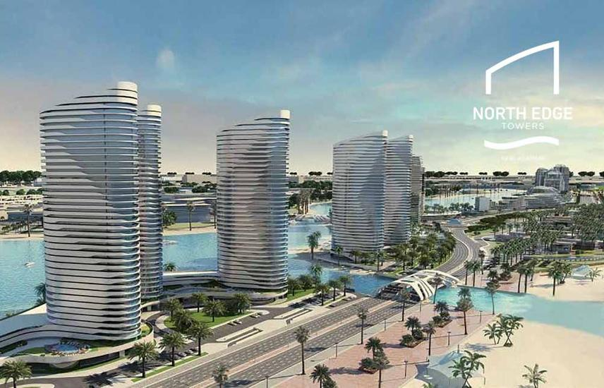 Apartment North Edge Towers 115m Finsihed with Ac