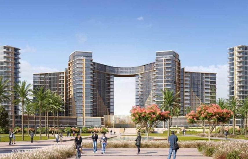 Flat for 8 years installment apartment towers zed Sheikh Zayed Mfdm 10%