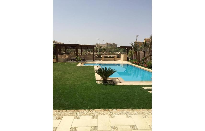 twin house 645SQM palm hills golden fully finished - Flash property