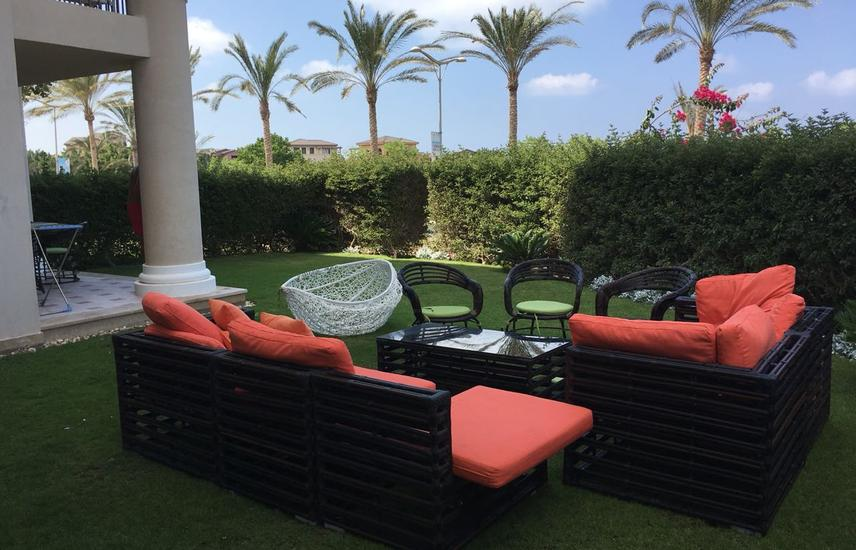 Furnished Garden Chalet in Catania Marassi for sale