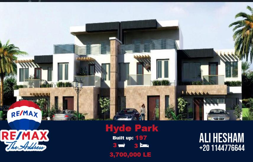 Town House Ba7ri for sale at Hyde Park New Cairo