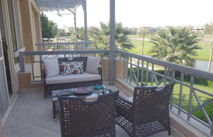 Upper Chalet Golf view in El Ain Bay with roof