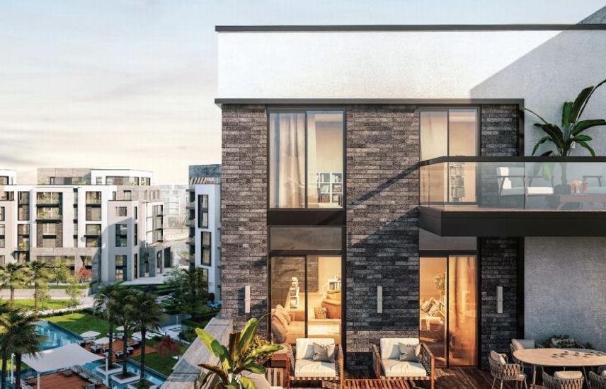 Apartment 127 meter swan lake hassan allam
