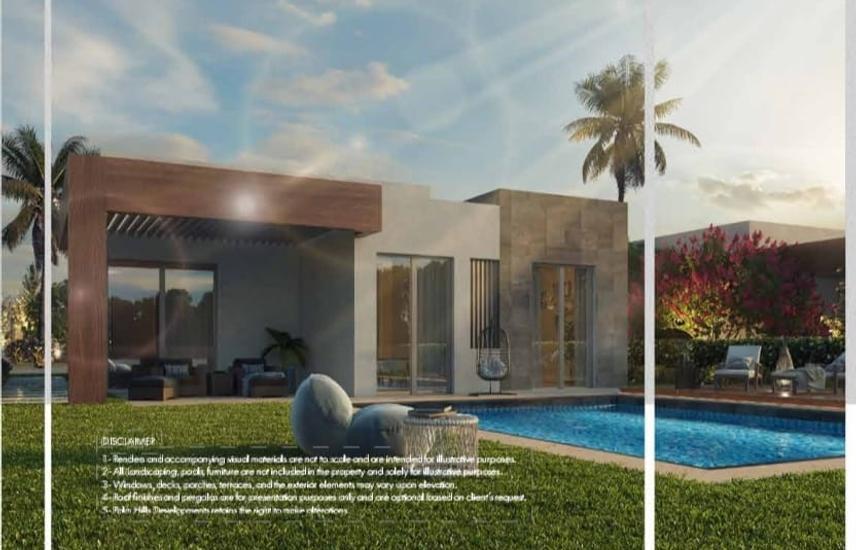 villa for sale Badya compound installment 12 years