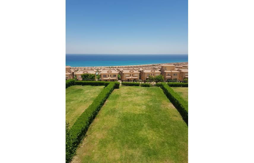 Twin house Sea View For Sale in Telal Ain sokhna .