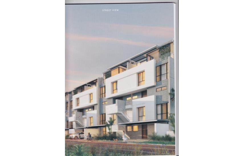 Duplex for sale 176 m in compound Al Burouj