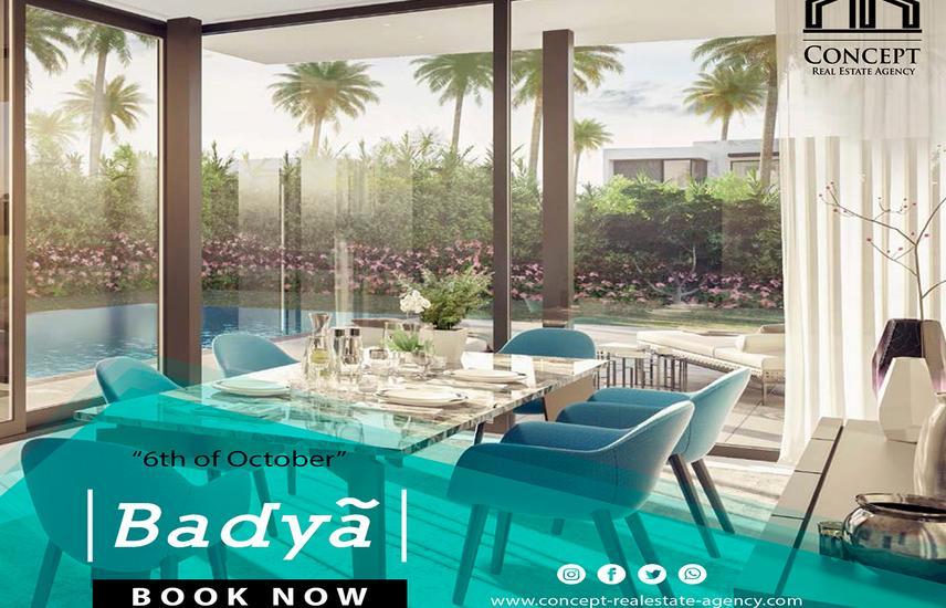 Apartment 145M Sale in - Badya Palm Hills