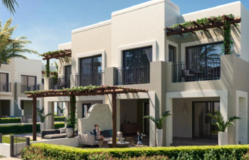 Townhouse with ACs for sale in Marassi Riva installments