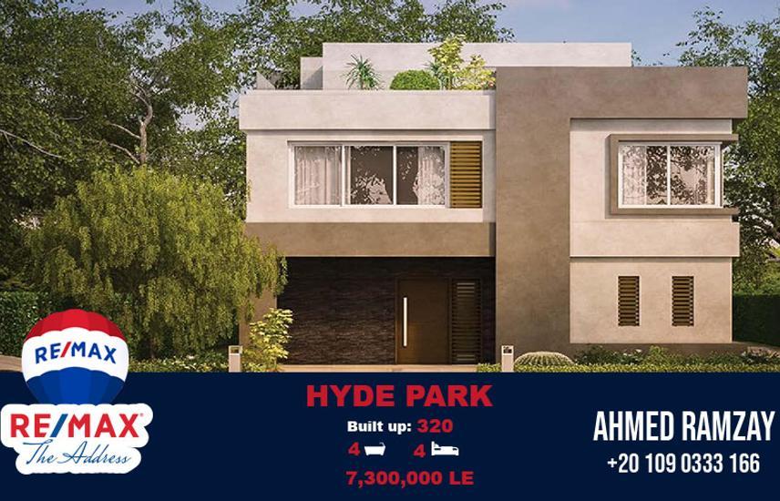 Standalone Villa 320 SQM Semi Finished Hyde Park